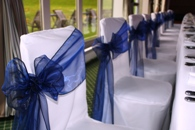 Zenith Events chair covers and ties