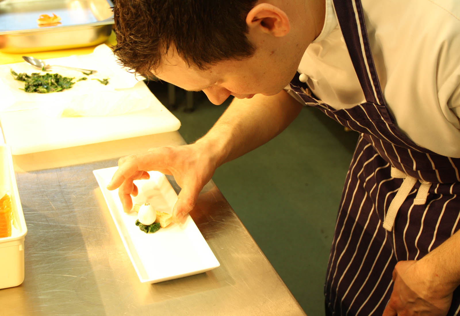 Tom Beauchamp, head chef