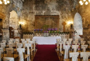 Auld Keep wedding ceremony