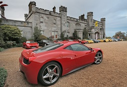 Dundas Castle Product Launch Corporate Events Venue Ferrari