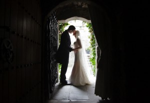 Couple in Auld Keep doorway