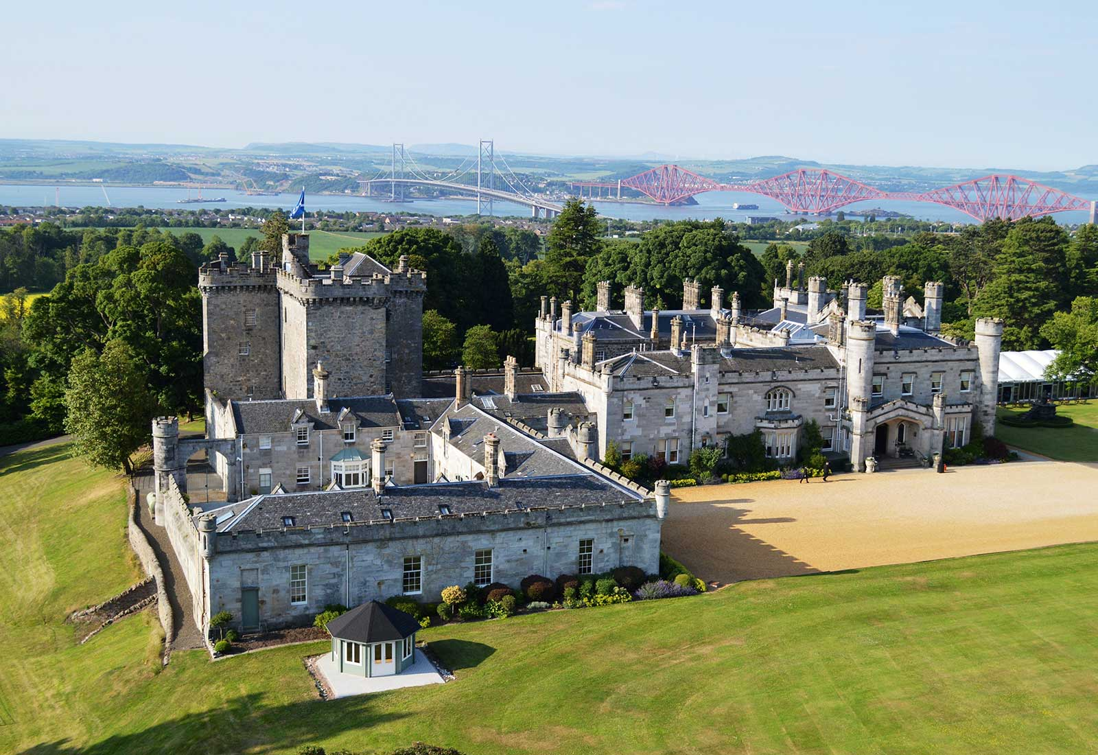 French Chateau House Plans History Of Dundas Castle Castle For Hire In Scotland