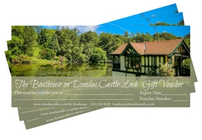 Dundas Castle Boathouse Gift Voucher