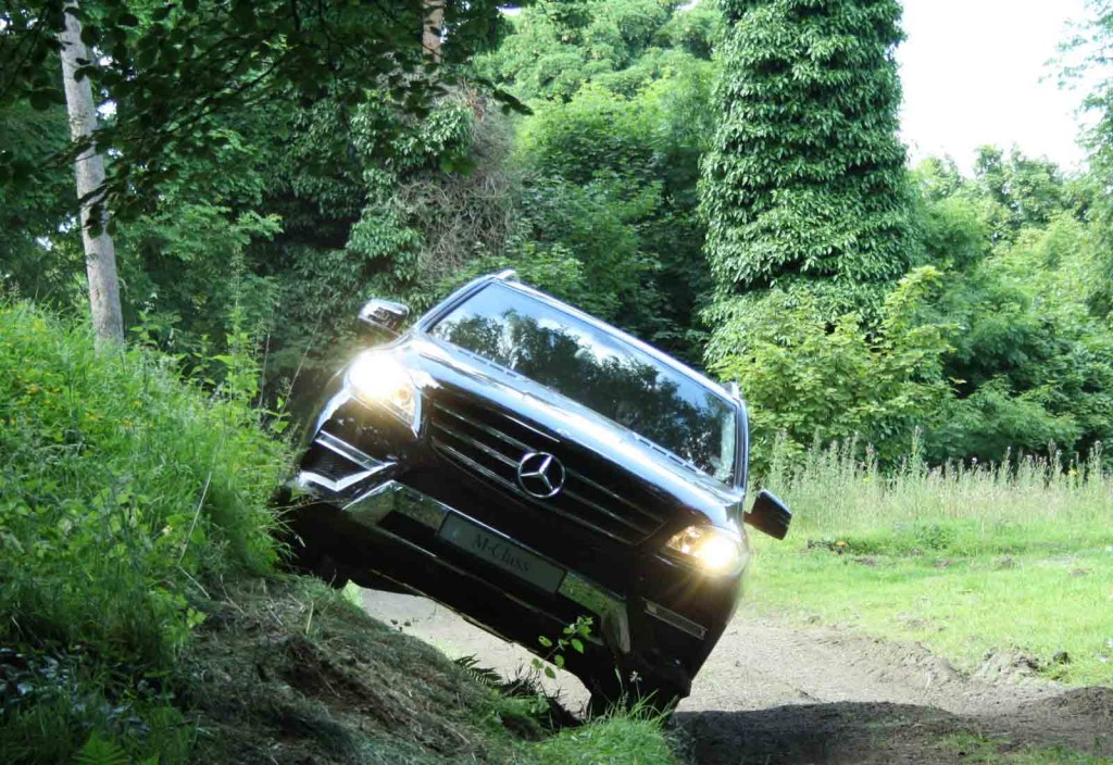 off road driving at Dundas Castle