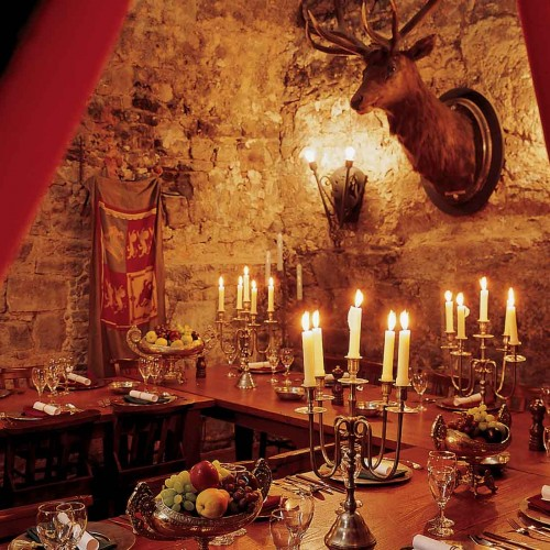 Stag Chamber in the Auld Keep