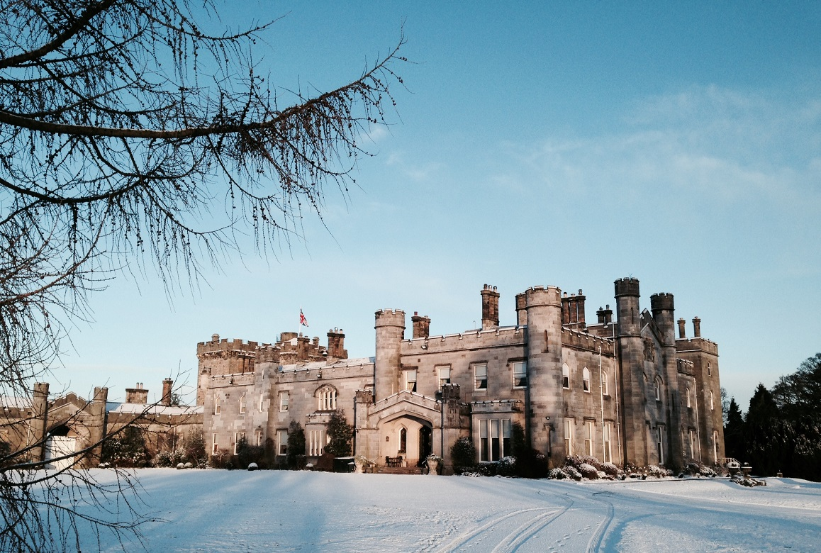 Dundas Castle winter wedding package