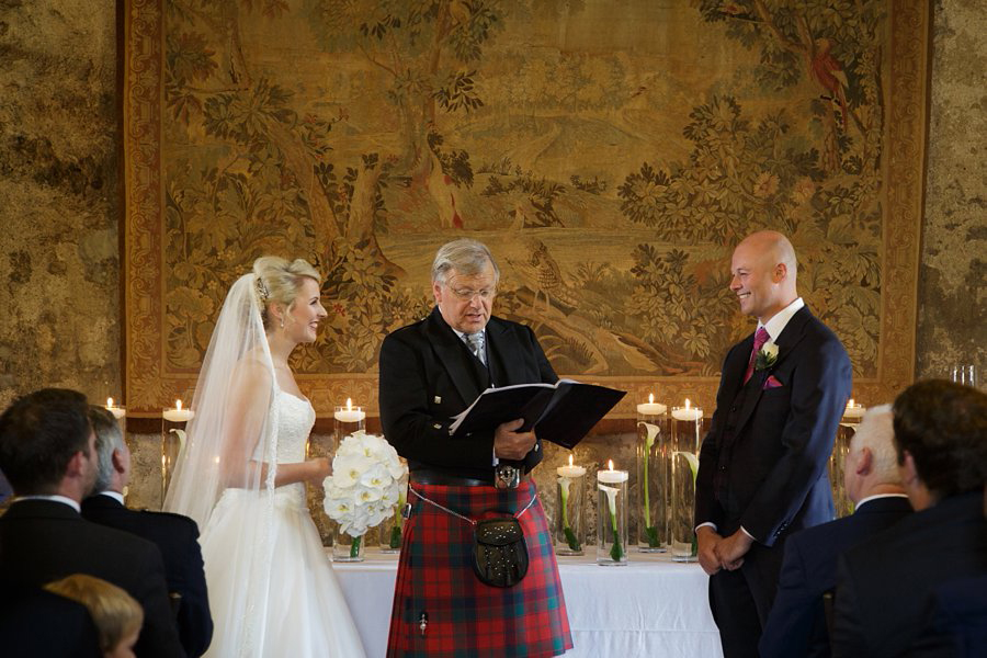 Dundas Castle Wedding Venue Scotland Blue Sky Photography