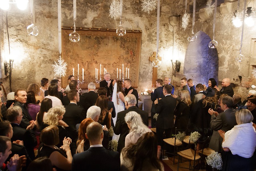 Dundas Castle Winter Wedding Venue Edinburgh Scotland