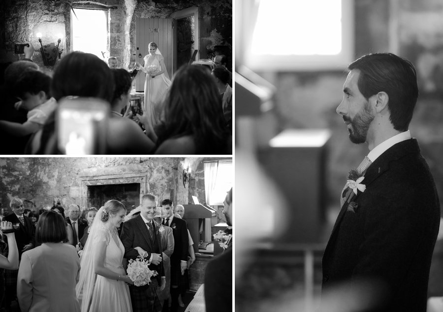 Dundas Castle Real Wedding Blue Sky Photography