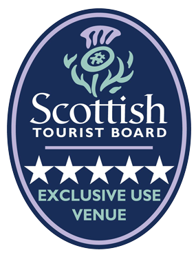 Scottish Tourist Board - 5 Star Exclusive Use Venue