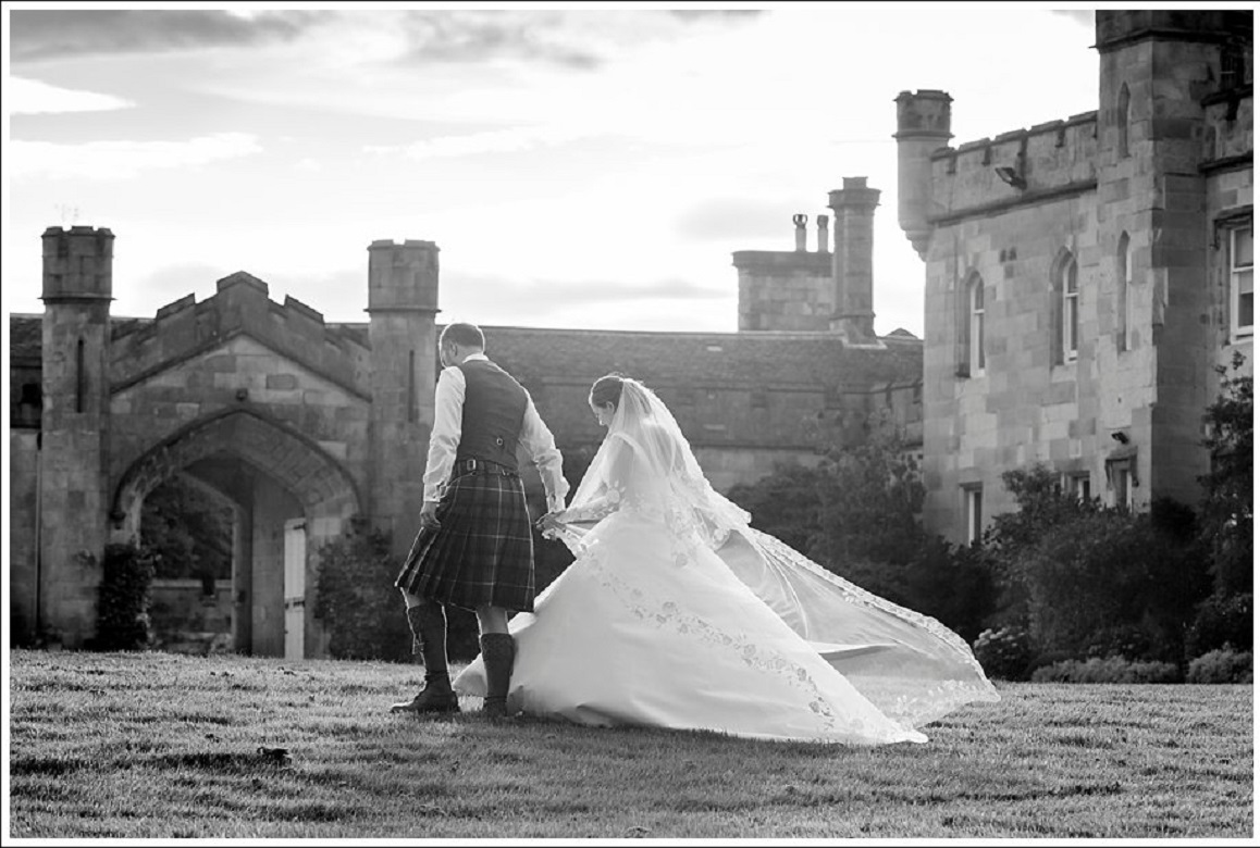 Dundas Castle Real Wedding R