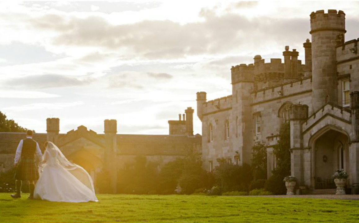 Emma Tom Real Wedding Dundas Castle Rankine Photography