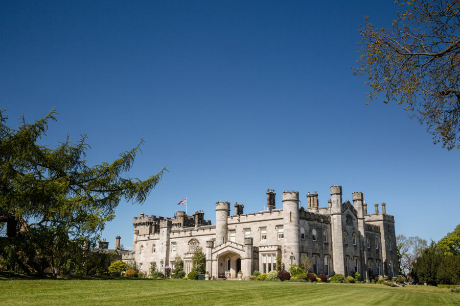 Dundas Castle wedding Blue Sky Photography