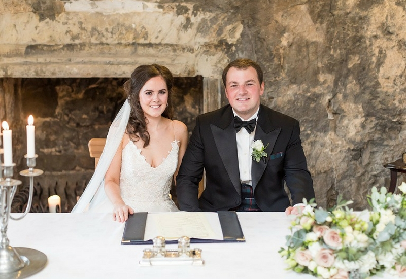 Dundas Castle Real Wedding Edinburgh Scotland- Ryan White Photography, Samantha and Oliver