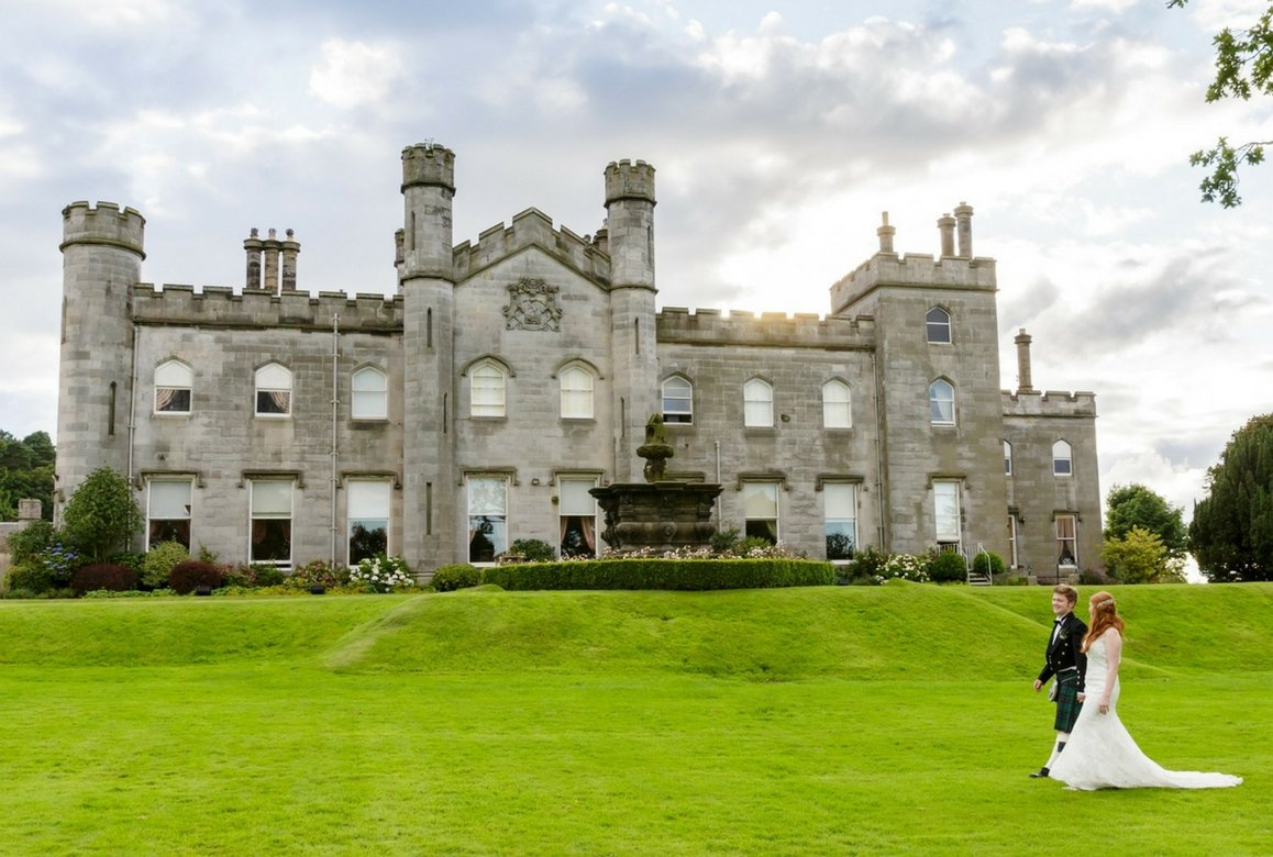 Dundas Castle wedding venue Edinburgh Rankine Photography