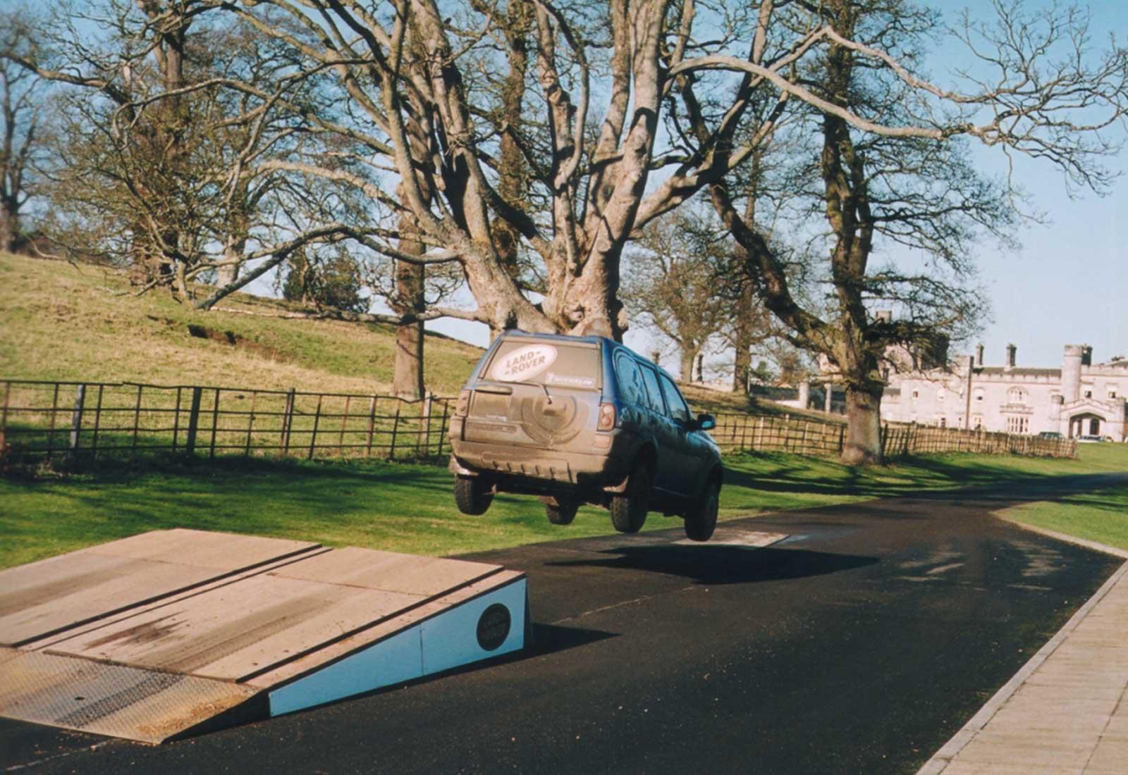 Dundas Land Rover Jump