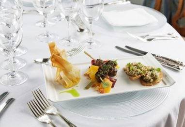 Dundas Castle dining by Prestige Venues and Events