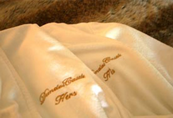 Personalised Dundas Bath Robes