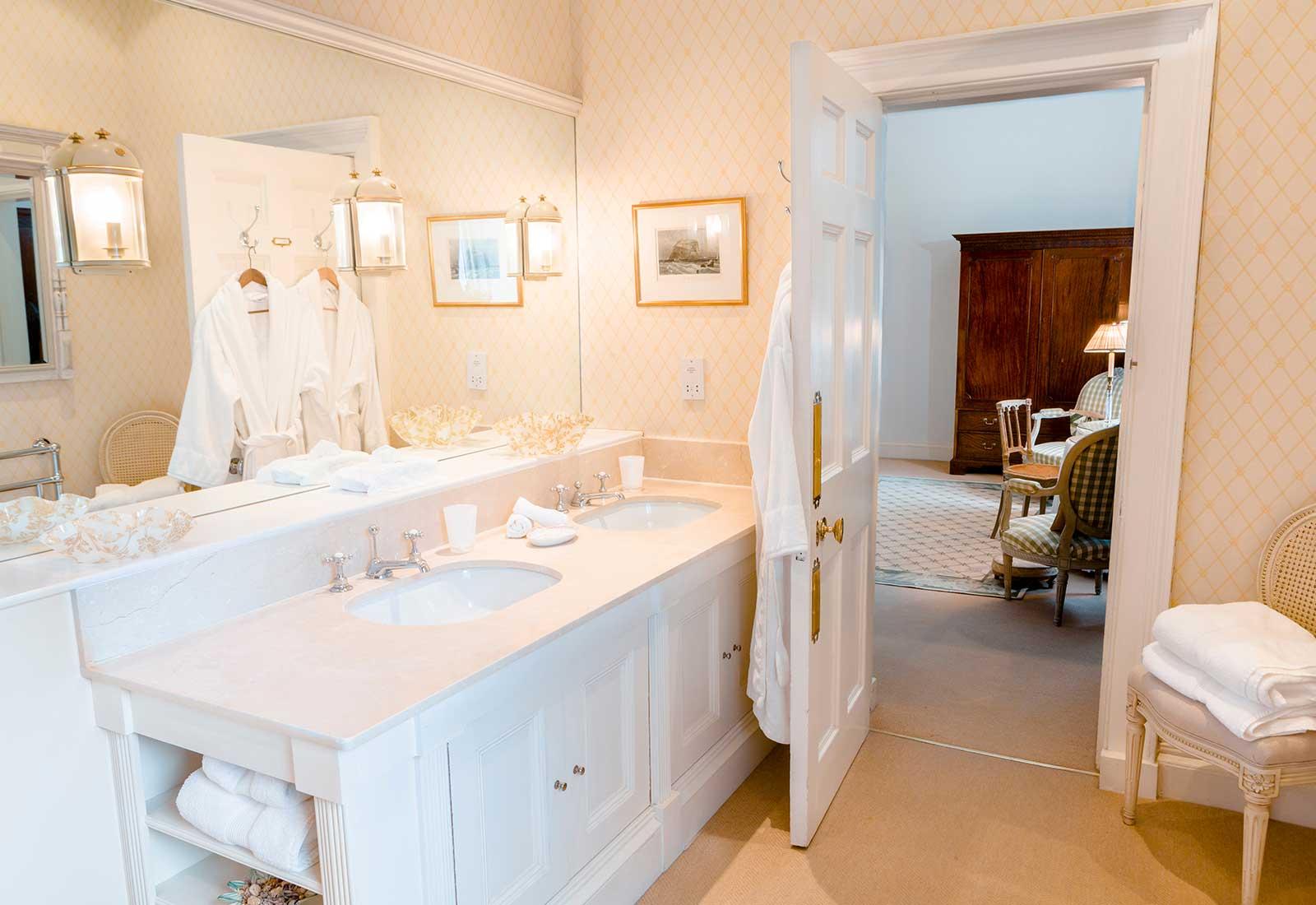 Orchid Bathroom