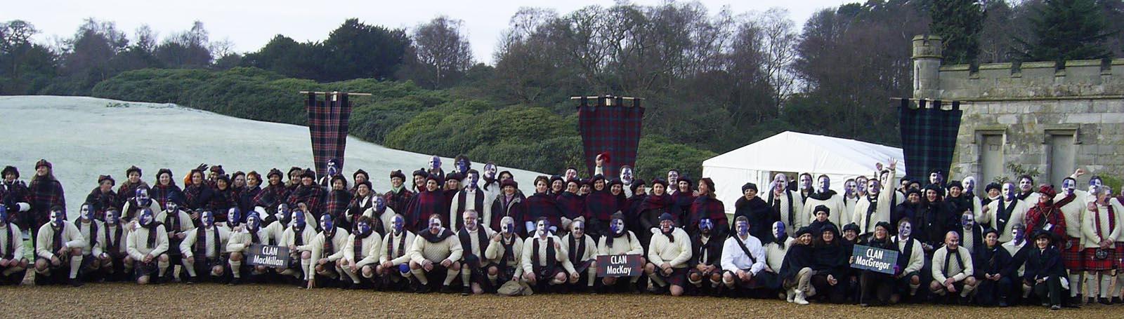 Dundas Castle team building event