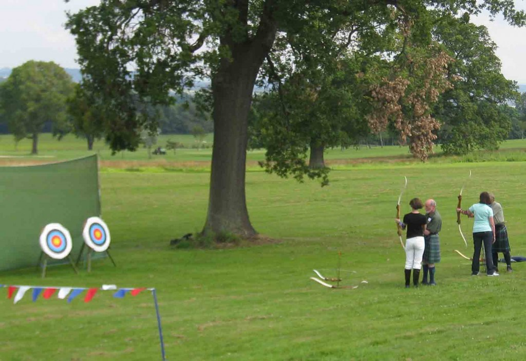 Archery at Dundas Castle
