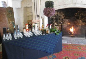 Whisky tasting in the Auld Keep