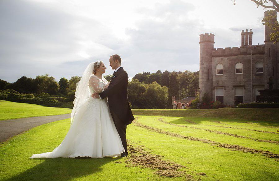 Dundas Castle Real Wedding Venue Edinburgh Blue Sky Photography