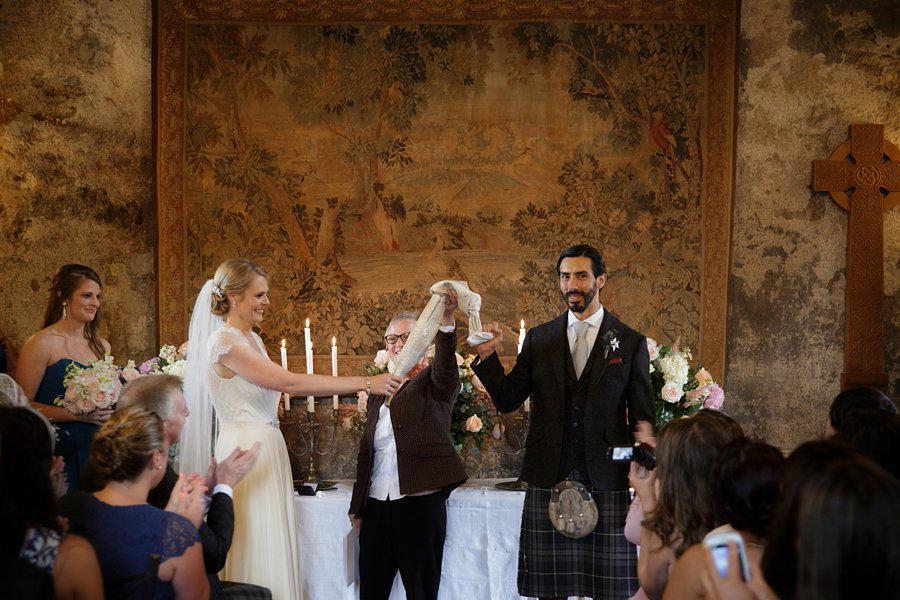 Dundas Castle Real Wedding Blue Sky Photography
