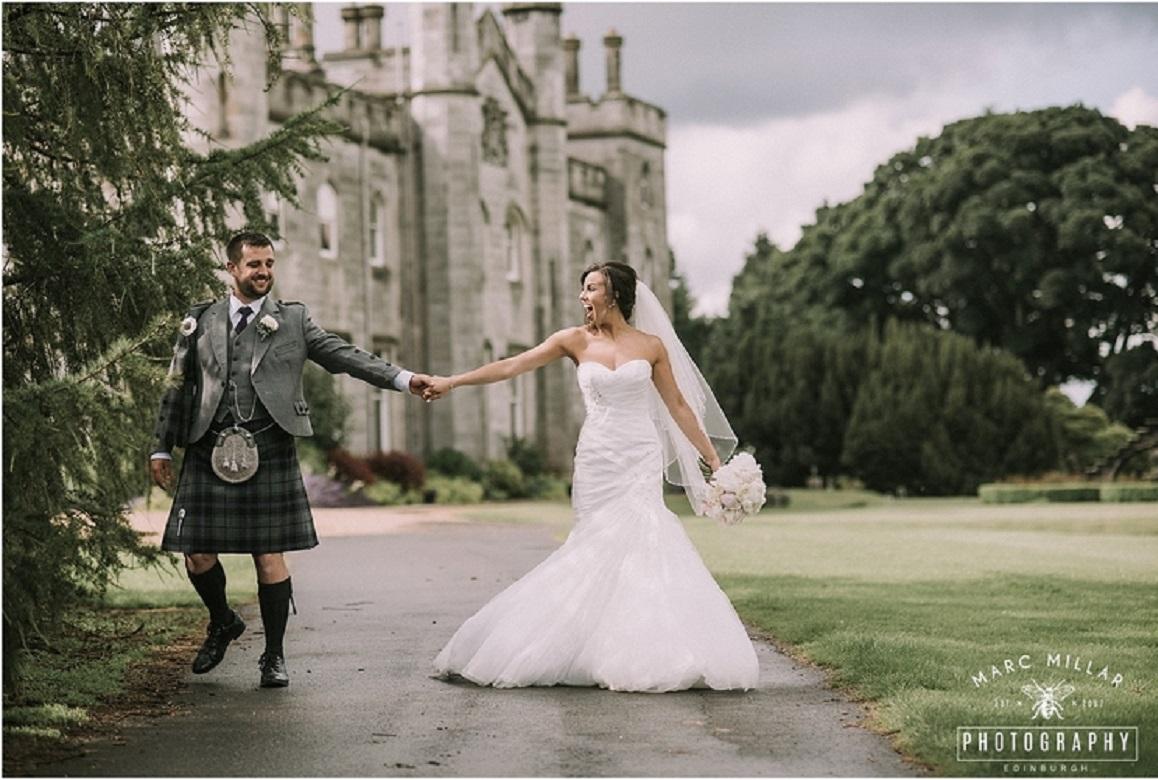Dundas Castle Wedding Marc Millar Photography