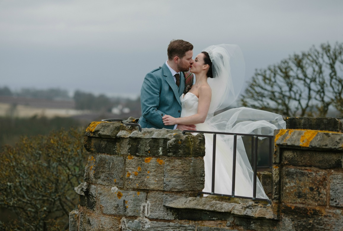 Natalie David Real Wedding Duke Photography Dundas Castle