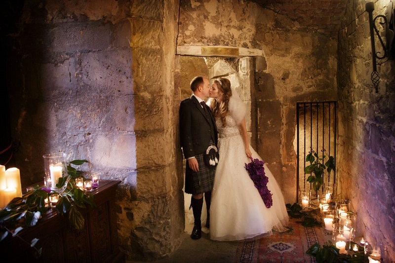 Dundas Castle Winter Wedding Dundas Castle
