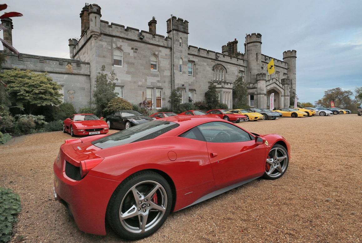 Dundas Castle Ferrari Owners Club 50th Anniversary Dinner a5eafe7f4955