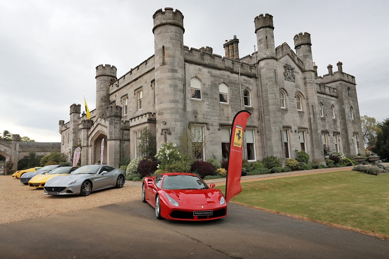 Dundas Castle Ferrari Owners Club Event