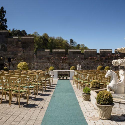 Dundas Castle Courtyard Ceremony