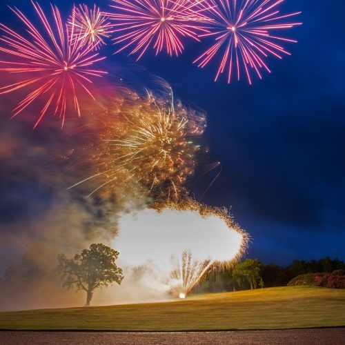 Dundas Castle Fireworks