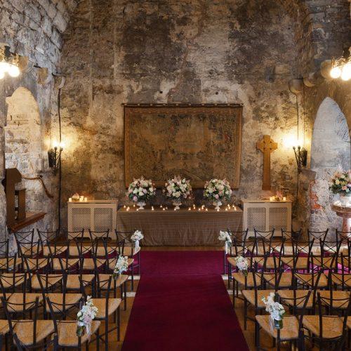 Dundas Castle Great Hall Wedding Ceremony