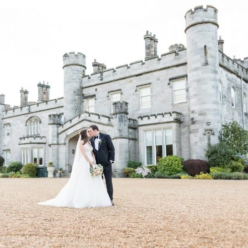Dundas Castle Wedding Couple