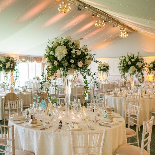 Dundas Castle Pavilion Wedding Reception