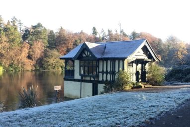 Dundas Castle Boathouse self catering holiday cottage edinburgh 9