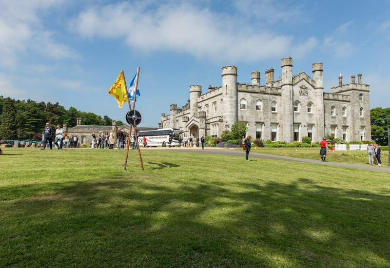Dundas Castle Scottish Weddings Edinburgh Venue highland show