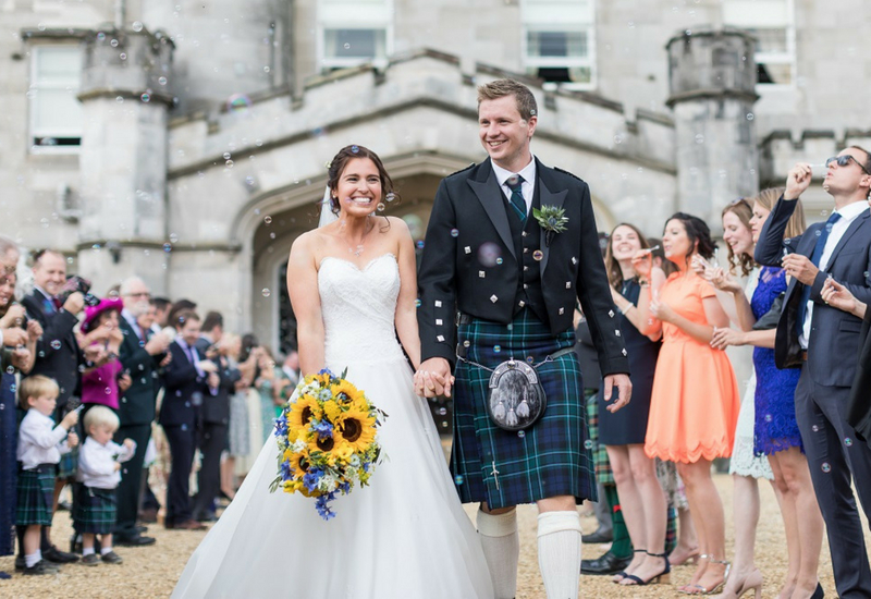 Dundas Castle Scottish Exclusive Use Wedding Venue