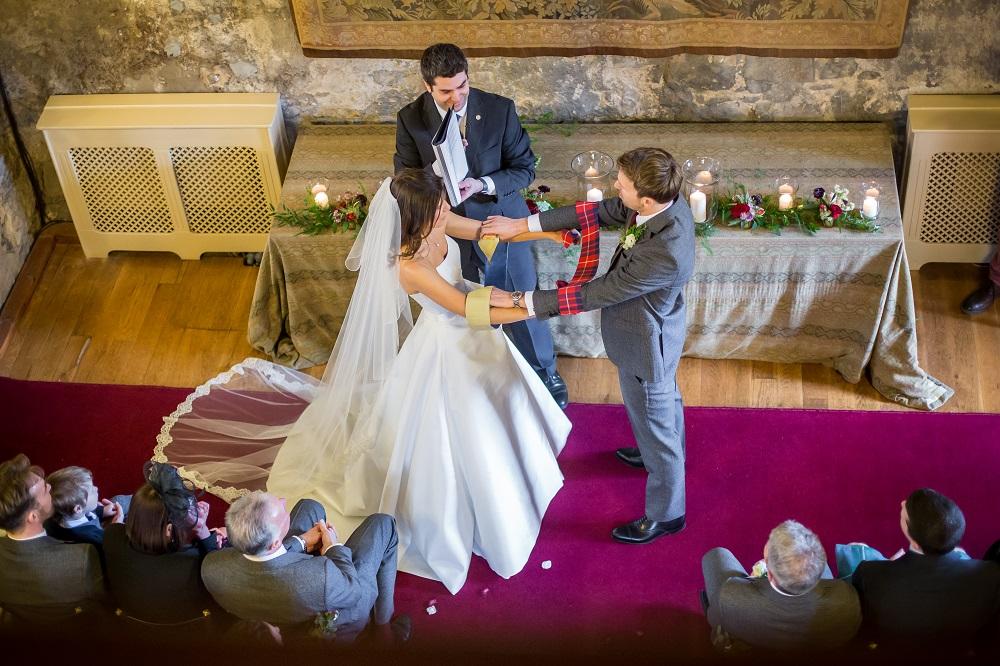 Scottish Castle Wedding Venue Ceremony