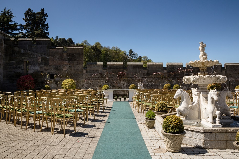 Scottish Wedding Venue Outdoor Ceremony