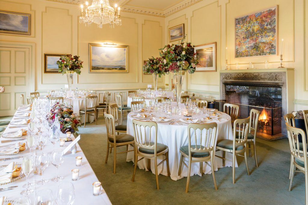 Dundas Castle Croquet Room Dinner