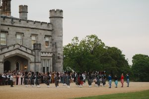 Dundas Castle Pipeband Performance