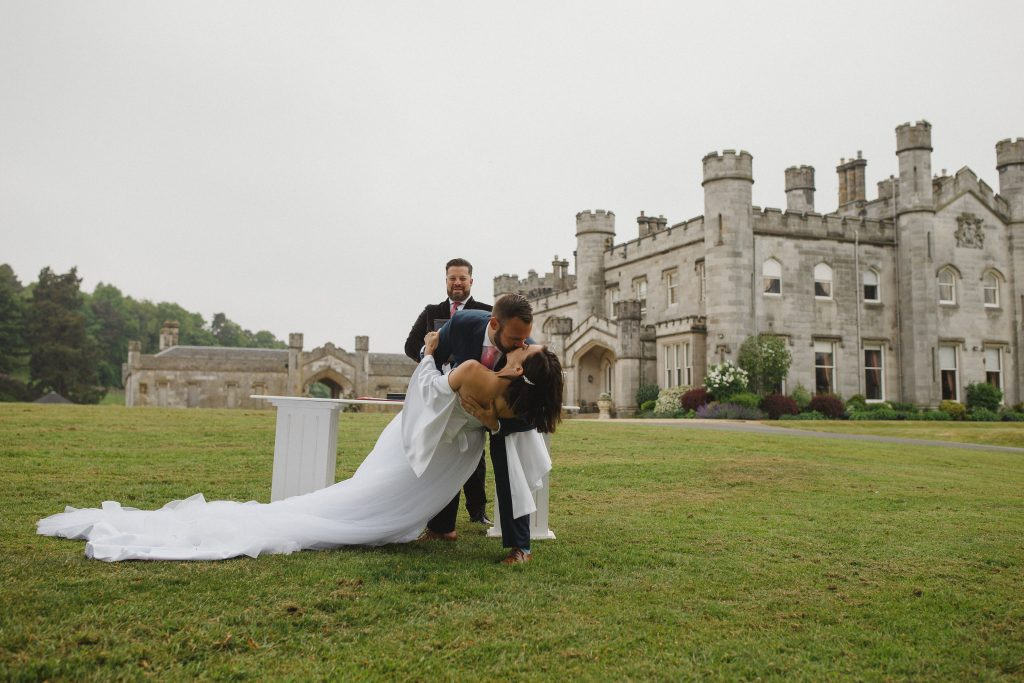 Dundas Castle Outdoor Wedding Ceremony