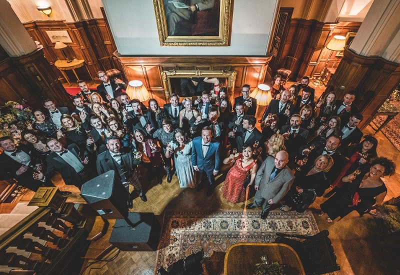 Dundas Castle Anniversary Celebration- Taylor Hopkinson