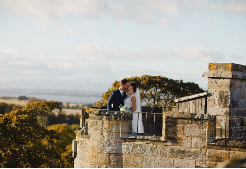 Dundas Castle Real Wedding- Alanna and Colin