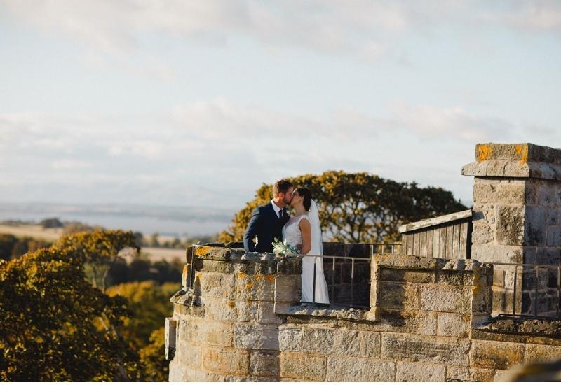 Dundas Castle Real Wedding- Alanna and Colin