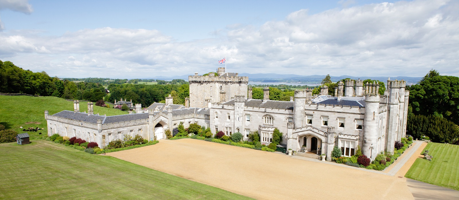 Dundas Castle Exclusive Use Wedding Venue